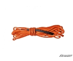 Synthetic Winch Rope Replacement 50 Ft. - Orange